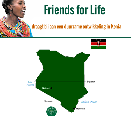 stichting Friends for Life in Kenia